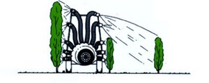 для сада пневматический распылитель